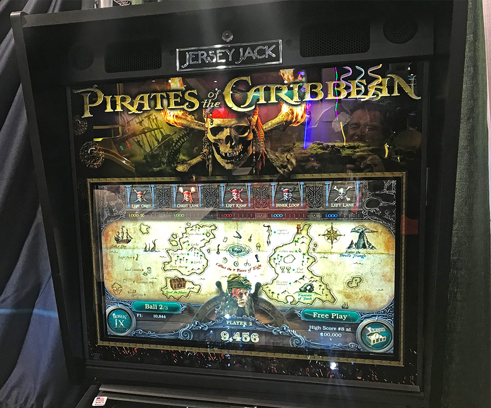 Jersey Jack new game Pirates of the Caribbean