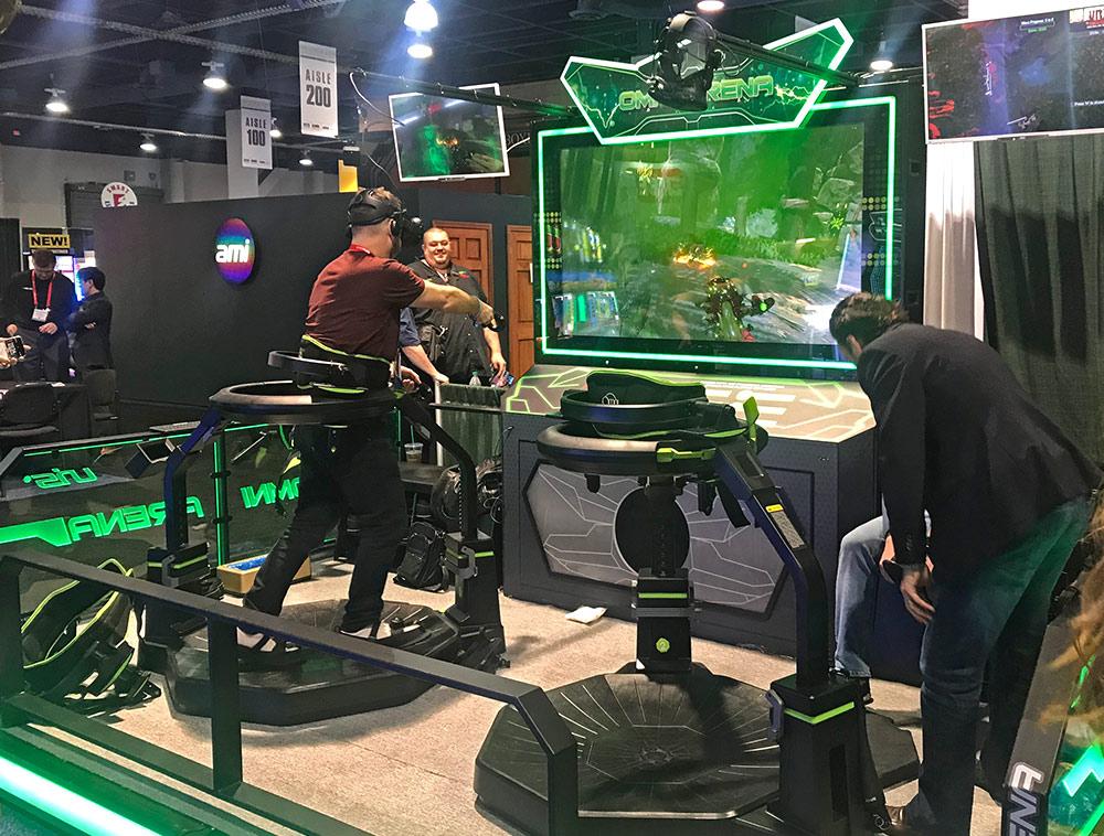 Omni Arena VR game concept