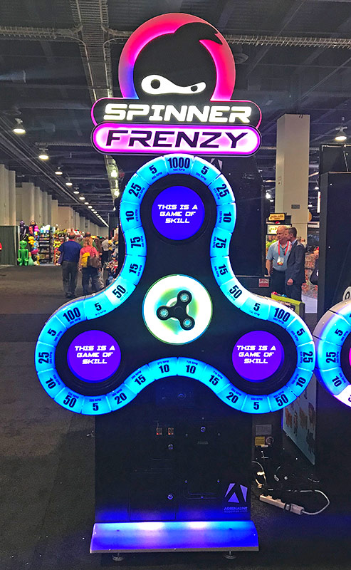 Spinner Frenzy from Adrenaline Amusements