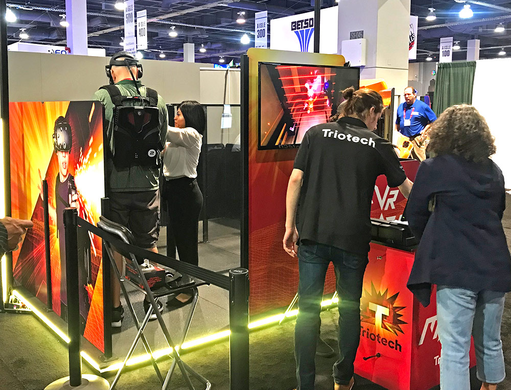 Triotech VR at Amusement EXPO 2018