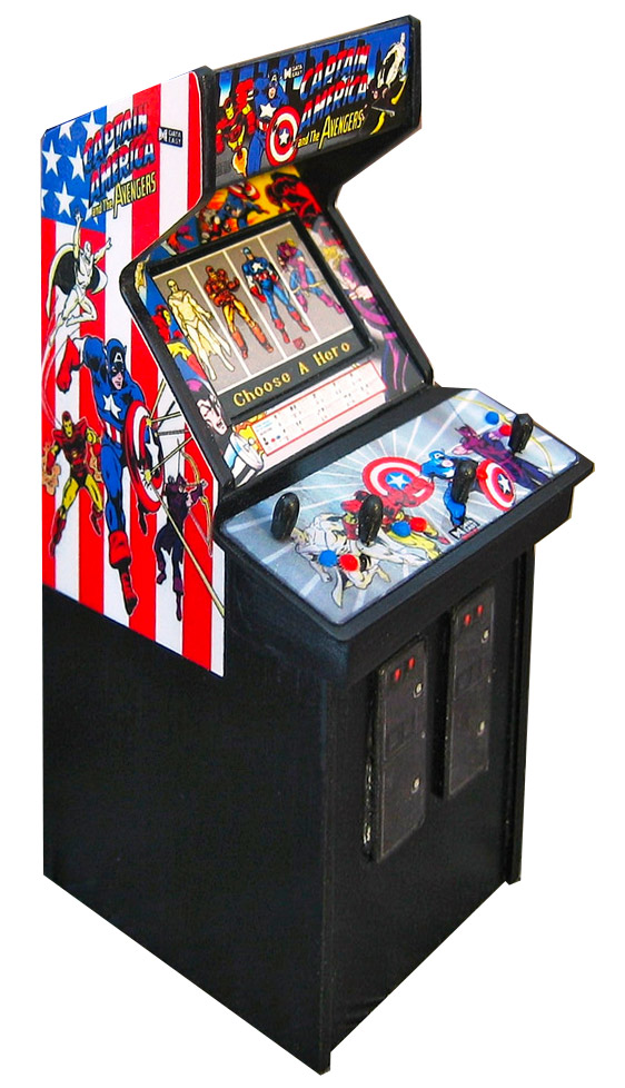 Captain America and the Avengers Data East Arcade Game Rental from Video Amusement