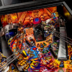 Iron Maiden Pinball machine has plenty of exiting action