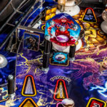 Iron Maiden Pinball with playfield detailed artwork