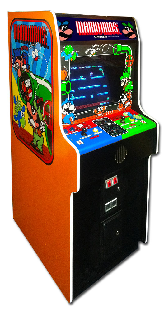 Mario Bros Classic Arcade Game from Nintendo Rental San Francisco from Video Amusement
