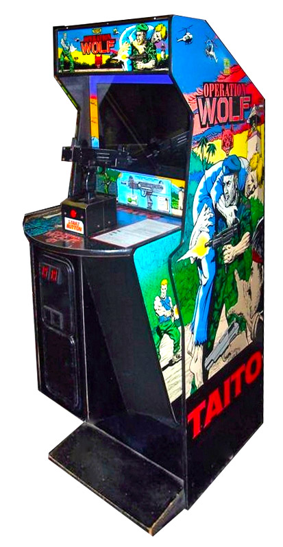 Operation Wolf Taito Classic Arcade Game Rental