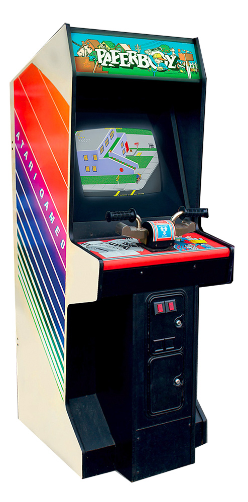 Paperboy Classic Arcade Game from Atari Rental by Video Amusement