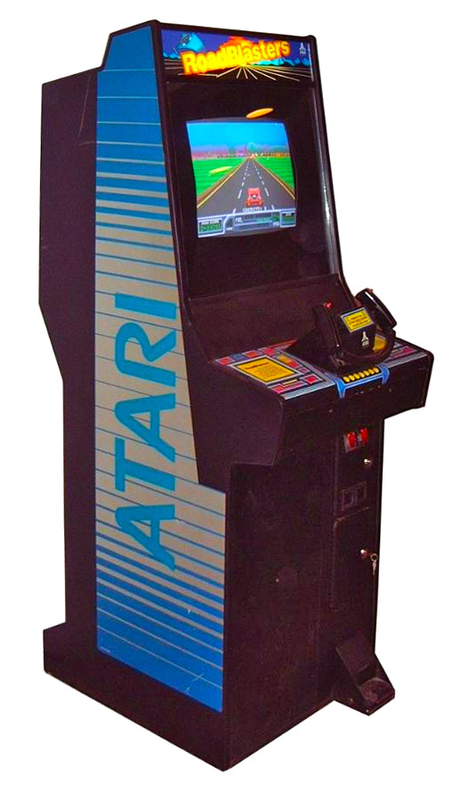 Road Blaster Atari Arcade Game Rental from Video Amusement