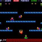 Screen shot of rented Nintendo Mario Bros San Francisco from Video Amusement