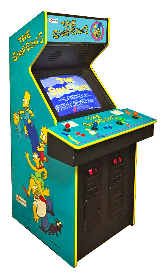 The Simpsons Arcade Game from Konami Rental from Video Amusement
