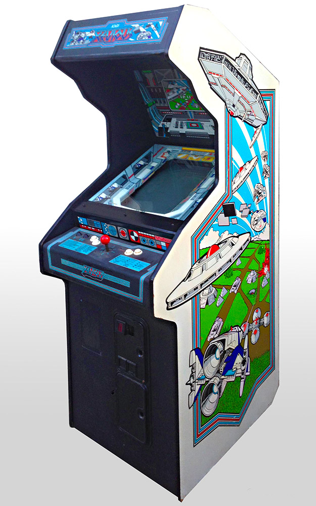 Xevious Classic Atari Arcade Game Rental from Video Amusement