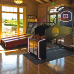 NBA-Game Time and Skeeball games on the rental location by Video Amusement