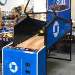 NBA Game Time arcade basketball game custom branded for the new Chase Center in San Francisco from Video Amusement