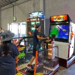 Space Invaders Frenzy and Top Skater at the corporate event provided by Video Amusment