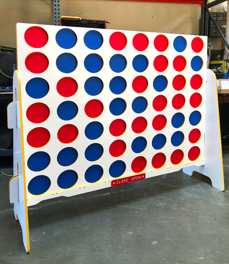 Custom wrapped Double XL Connect Four Game