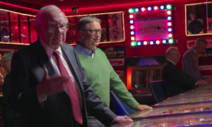 Warren Buffett talking about pinball venture