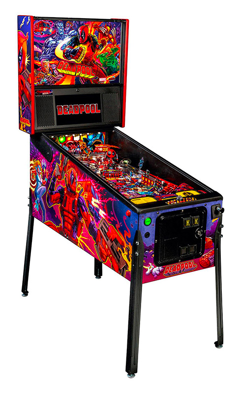 Deadpool Pinball Machine Stern Games Rental
