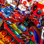 Los Angeles Deadpool Pinball Game for rent from Video Amusement