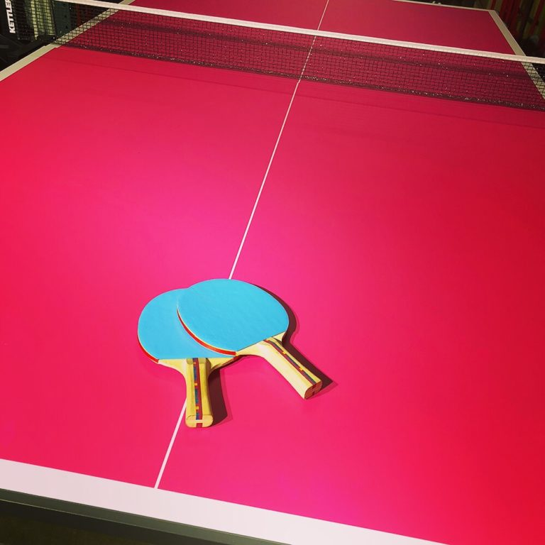 Custom Ping Pong for a party in Las Vegas
