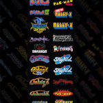 Classic 80s Video Arcade Games for Rent from Video Amusement San Francisco California