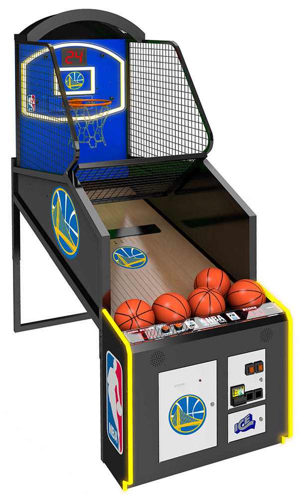 NBA Game Time LED Basketball rental from Video Amusement available San Francisco Bay Area California Nevada