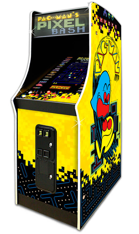 Pac Mans Pixel Bash Classic Arcade Game Rental from Video Amusement
