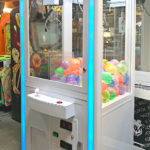 Attractive LED Glowing Claw Crane game for Rental