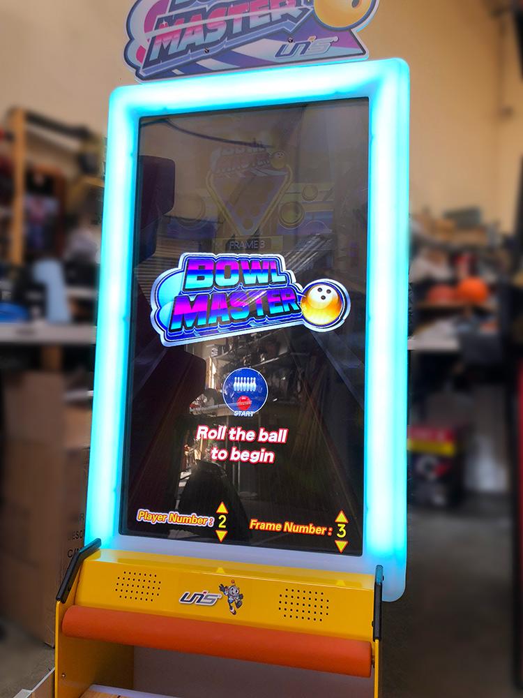 Bowl Masters Virtual Bowling Game - Video Amusement Arcade