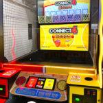 Connect 4 Hoops Arcade Game Baytech rental San Francisco
