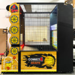 Connect four hoops Arcade Game side rental California