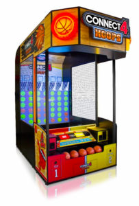 Connect 4 Hoops Arcade Game Rental available from Video Amusement