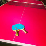 Custom Branding Ping Pong Table for a Corporate Rental Event