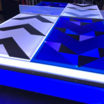 Customized LED Ping Pong Table Rental exclusive from Video Amusement