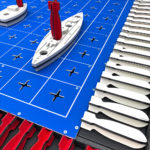 Giant Battleship Game Rental San Francisco Bay Area from Video Amusement