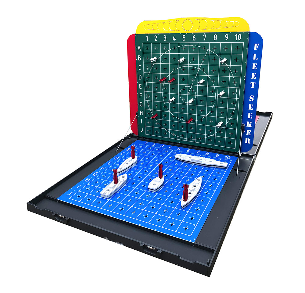 Giant Battleship Game for rent from Video Amusement
