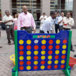 Giant Connect 4 Arcade Game Rental from Video Amusement