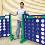 Giant Connect 4 Customized for corporate rental San Jose