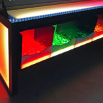 Giant Lite Brite w LED lighted table for rent from Video Amusement