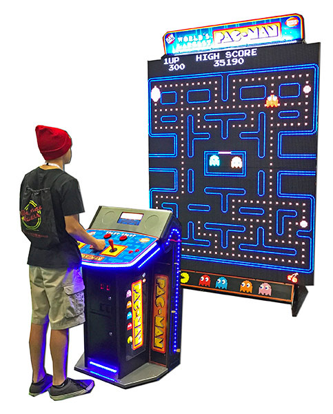 Giant Pacman with Galaga Interactive game for Rent San Francisco California