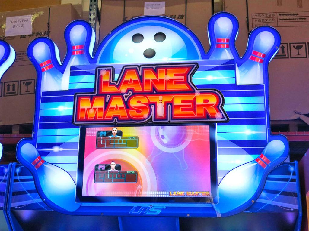 LED Lane Master Bowling Arcade Game Rental - Glowing