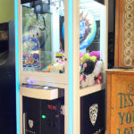 Interactive LED Claw Machine Custom Branded Rental from Video Amusement