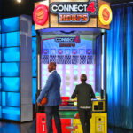 Kobe Bryant and Ellen Face Off in Basketball Connect 4 Hoops Game