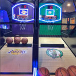 LED Glow Sports Basketball Arcade Game rental only by Video Amusement