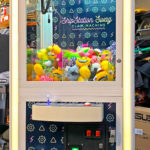 LED Glowing Claw Machine Levis Stadium Rental Santa Clara from Video Amusement