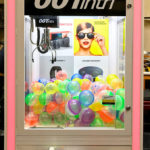 LED Lighted Crane Arcade Machine for Rent from Video Amusement