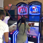 LED Lighted NBA Basketball Arcade Game Rental only from Video Amusement