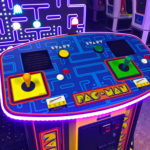 Largest Pacman Arcade in the World for rent only from Video Amusement San Francisco California