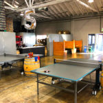 Ping Pong Tables on rental location Devil's Canyon Brewery