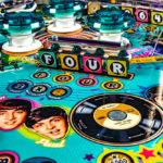 The Beatles Pinball Machine Rent in San Francisco Bay Area California