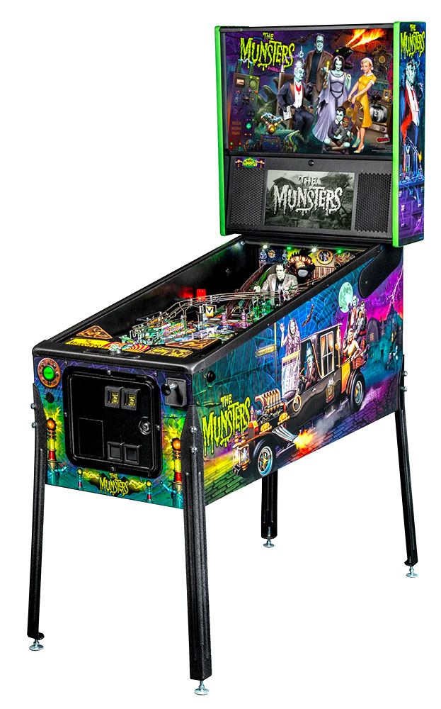 The Munsters Pinball PRO Game Rental available in San Francisco Bay Area California