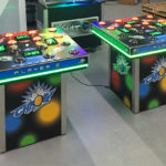 Chaos Strike a lite Arcade Game for rent from Video Amusement
